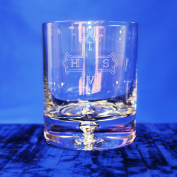 Premium Whisky Glass Red Cross of Constantine Knight Mason