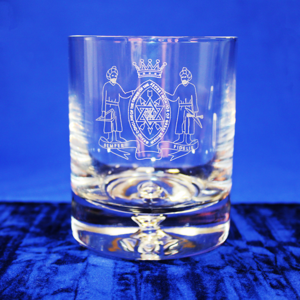 Premium Whisky Glass Order of the Secret Monitor