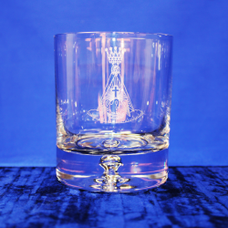 Premium Whisky Glass Rose Croix