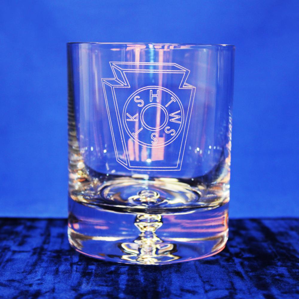 Premium Whisky Glass Mark Master Masons