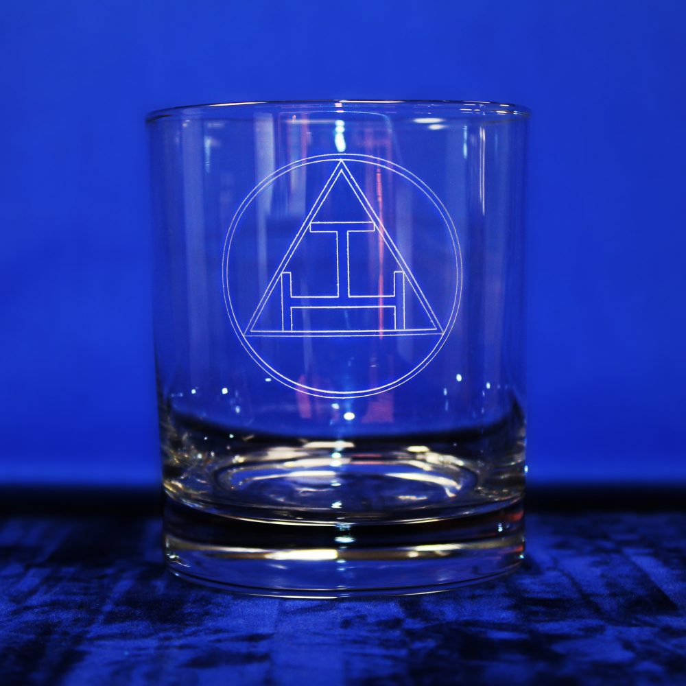 Standard Whisky Glass Holy Royal Arch