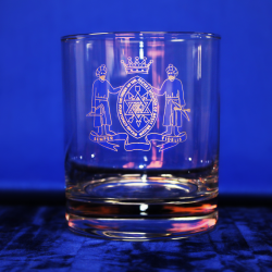 Standard Whiskey Glass Order of the Secret Monitor