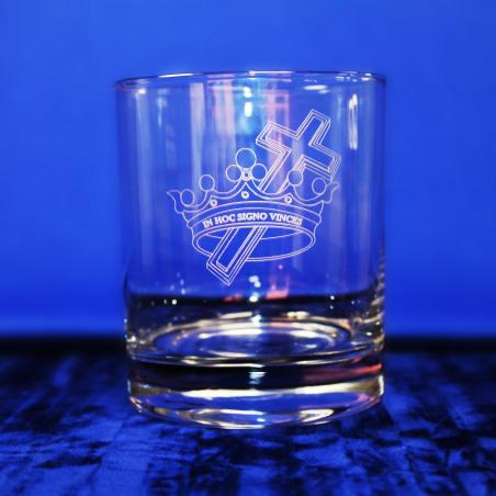 Royal Black Preceptory Standard Whisky Glass