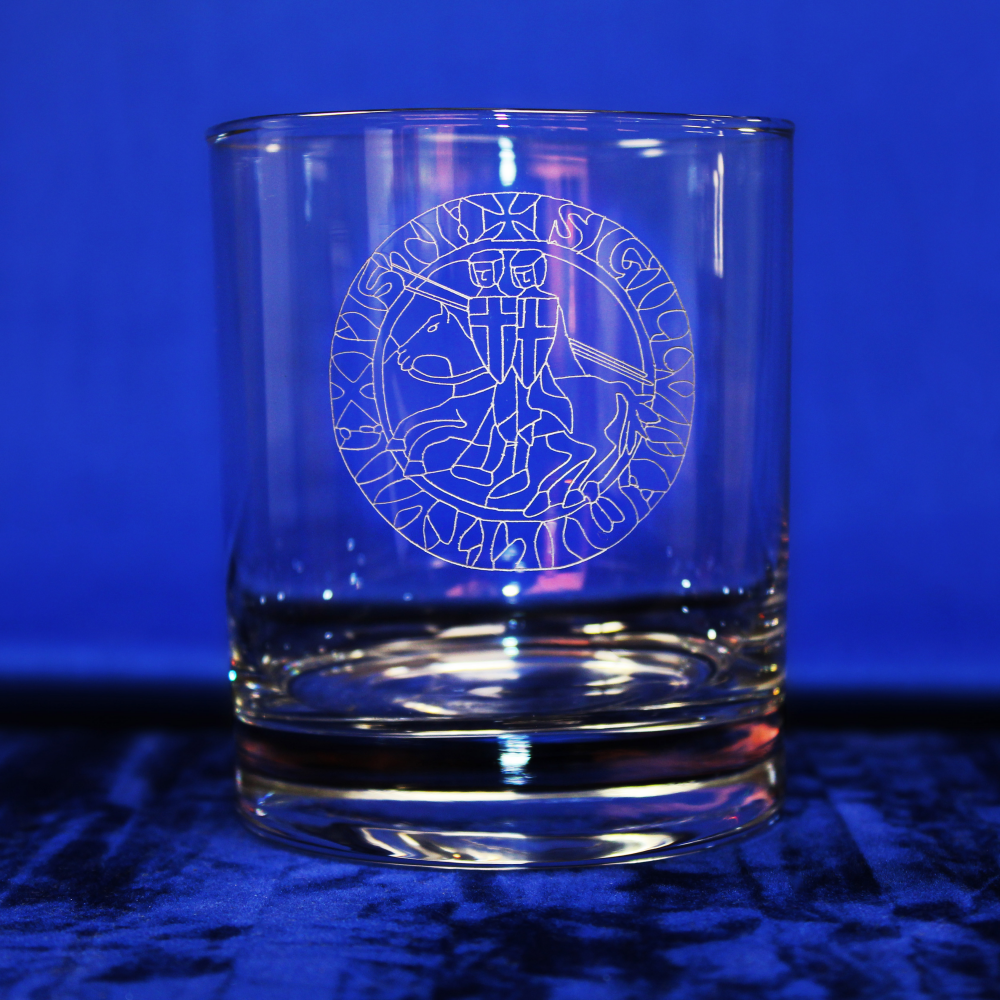 Knights Templar Standard Whisky Glass