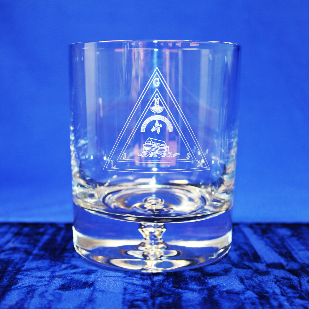 Royal Ark Mariners Premium Whisky Glass