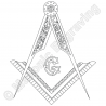 Square and Compasses With G