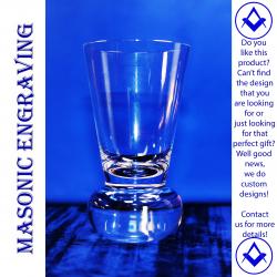 Plain Firing Glass