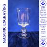 Plain Sussex Wine Glass