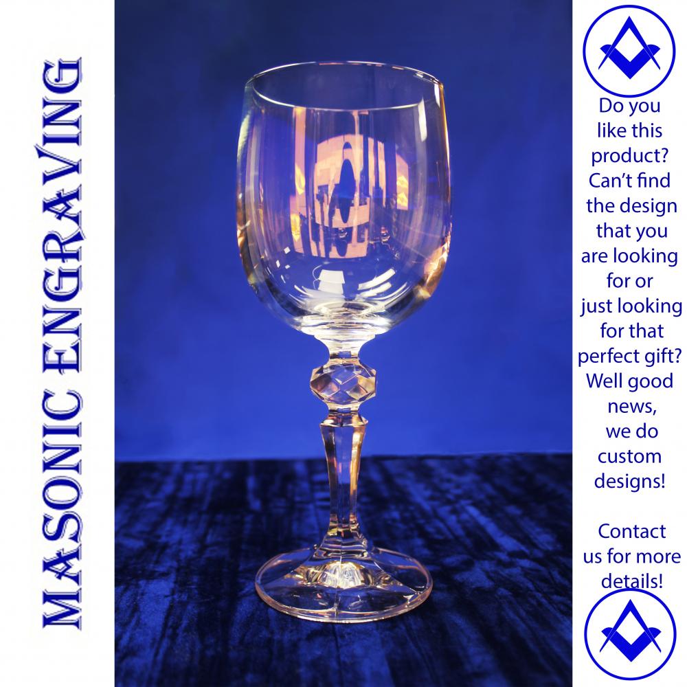 Mirelle Crystal Plain Wine Glass