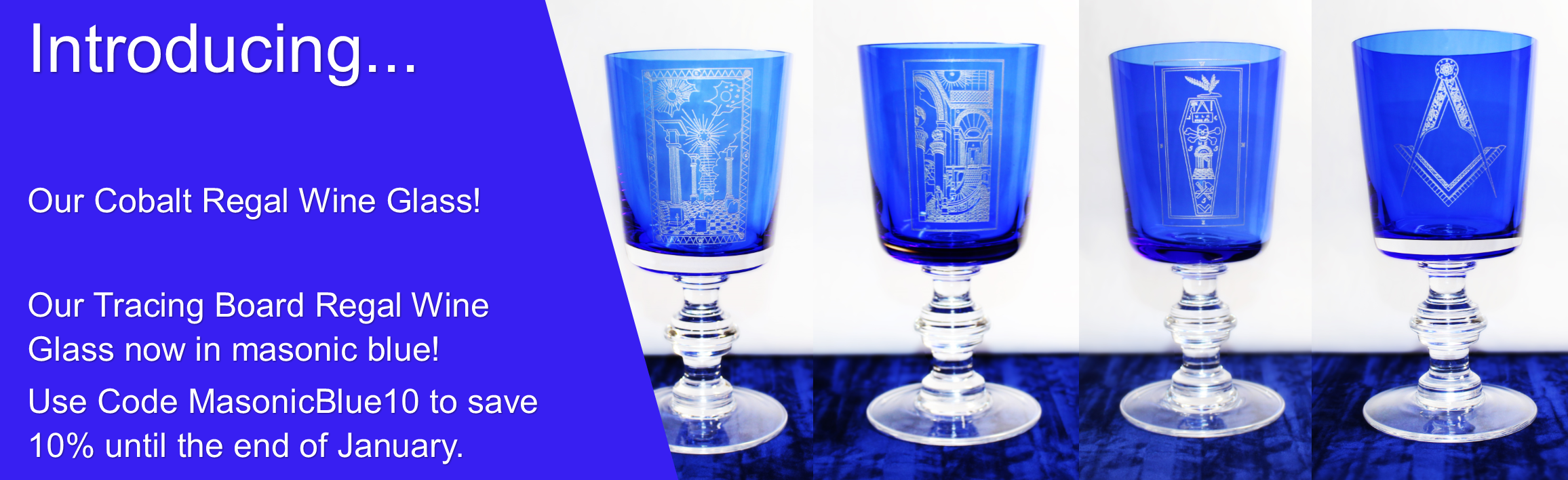Cobalt Regal Glass